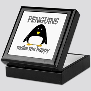 Penguin Happy Keepsake Box