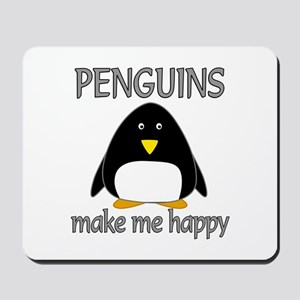 Penguin Happy Mousepad
