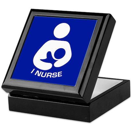 Breastfeeding: I Nurse Keepsake Box