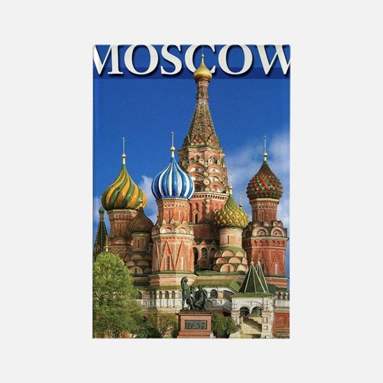 Cute Red square Rectangle Magnet