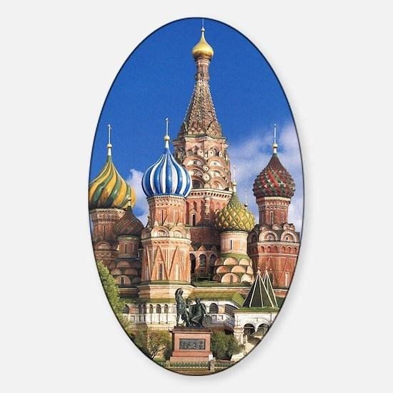 Unique Orthodox church Sticker (Oval)