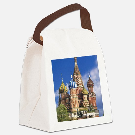 Russian Canvas Lunch Bag