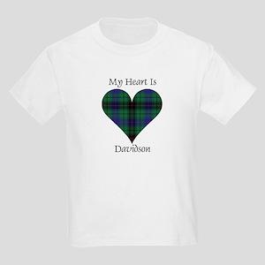 Heart - Davidson Kids Light T-Shirt