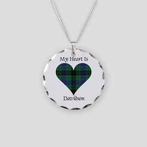 Heart - Davidson Necklace Circle Charm