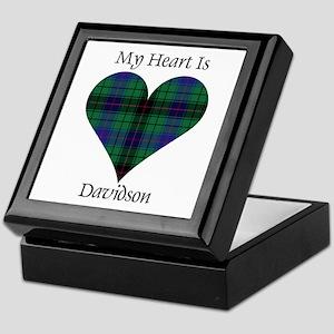 Heart - Davidson Keepsake Box
