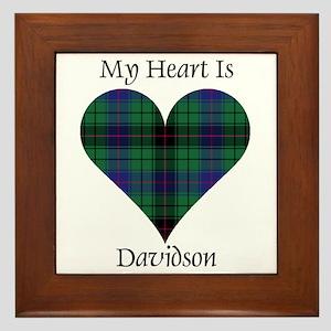 Heart - Davidson Framed Tile