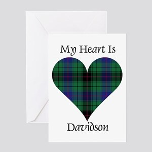 Heart - Davidson Greeting Card