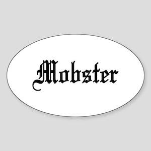 Mobster Oval Sticker