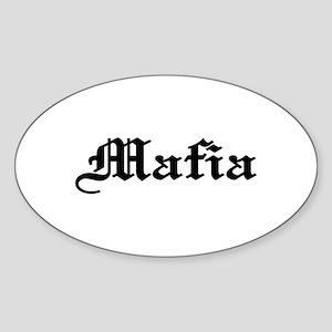 Mafia Oval Sticker