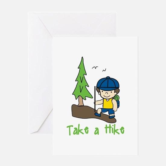 Take a Hike Greeting Cards