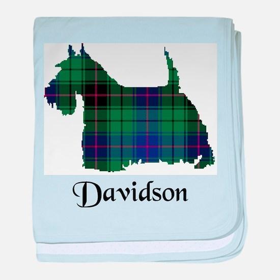 Terrier - Davidson baby blanket