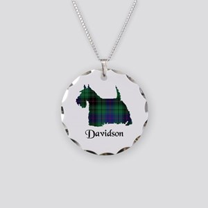 Terrier - Davidson Necklace Circle Charm