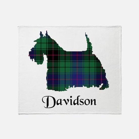 Terrier - Davidson Throw Blanket