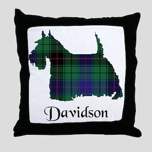 Terrier - Davidson Throw Pillow
