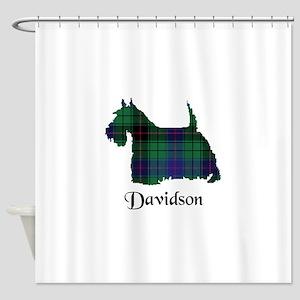 Terrier - Davidson Shower Curtain