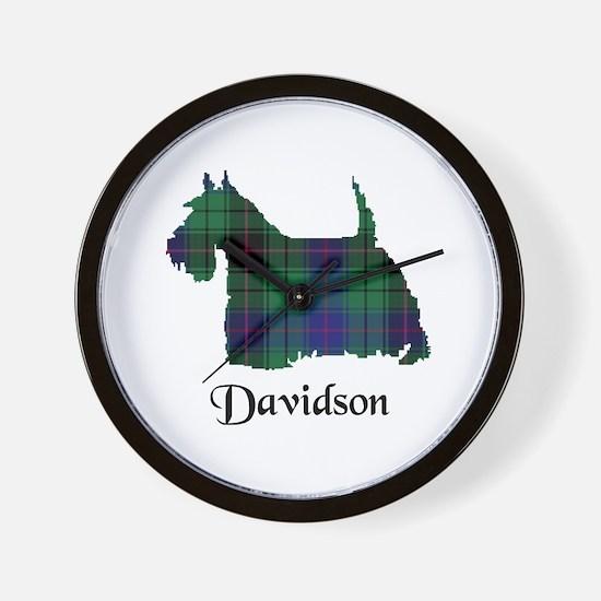 Terrier - Davidson Wall Clock