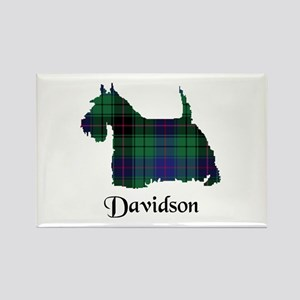 Terrier - Davidson Rectangle Magnet