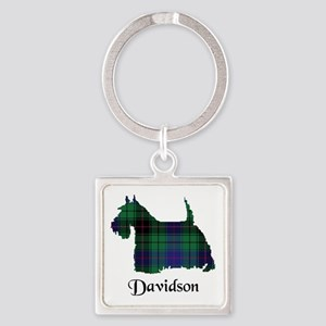 Terrier - Davidson Square Keychain