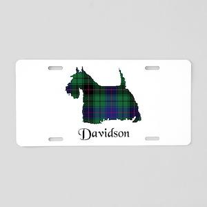 Terrier - Davidson Aluminum License Plate