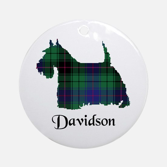 Terrier - Davidson Ornament (Round)