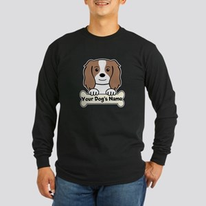Personalized Cavalier Long Sleeve Dark T-Shirt