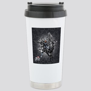 Gray Avengers Stainless Steel Travel Mug