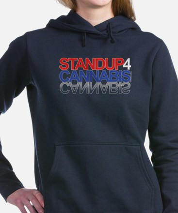 Stand Up For Cannabis™ Women's Hooded Sweatshirt