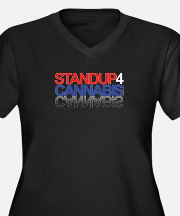 Stand Up For Cannabis™ Plus Size T-Shirt