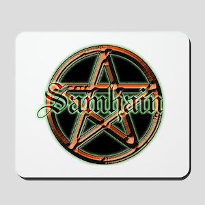 """""""Samhain Pentacle"""" Mousepad"""