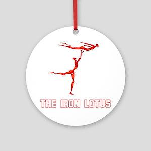 The Iron Lotus Ornament (Round)
