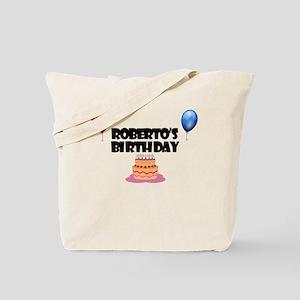 Roberto's Birthday Tote Bag