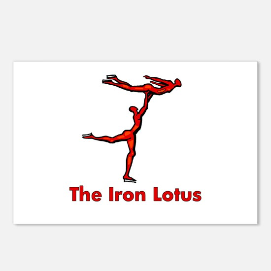 The Iron Lotus Postcards (Package of 8)
