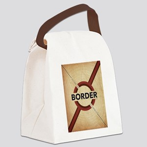 Secure The Border Canvas Lunch Bag