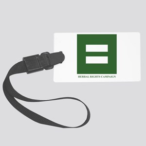 Herbal Rights Campaign Luggage Tag