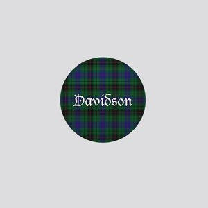 Tartan - Davidson Mini Button