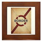 Secure The Border Framed Tile