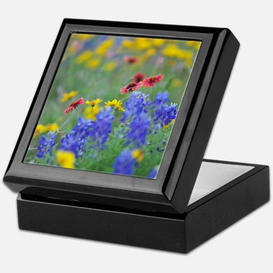 Unique Wildflowers Keepsake Box