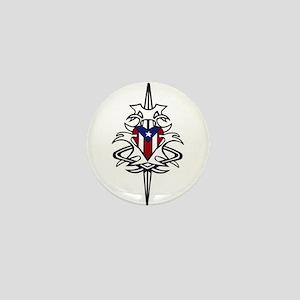 Puerto Rican Pride Mini Button