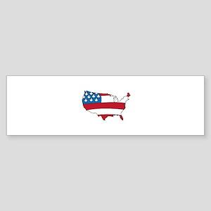 US Country Bumper Sticker