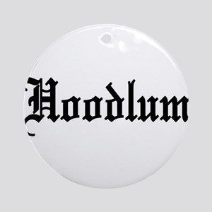 Hoodlum Ornament (Round)