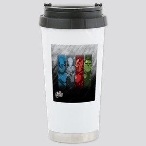 Four Avengers Stainless Steel Travel Mug