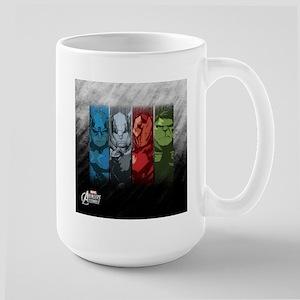 Four Avengers Large Mug
