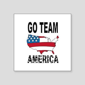 Go Team America Sticker