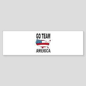 Go Team America Bumper Sticker