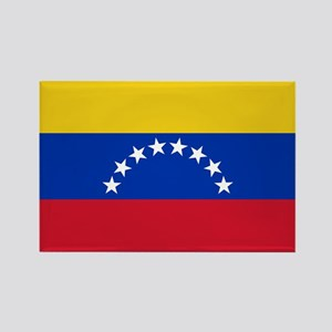 Venezuela Flag Rectangle Magnet
