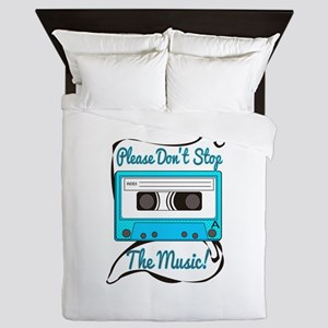 Dont Stop the Music Queen Duvet