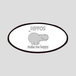 Hippo Happy Patches
