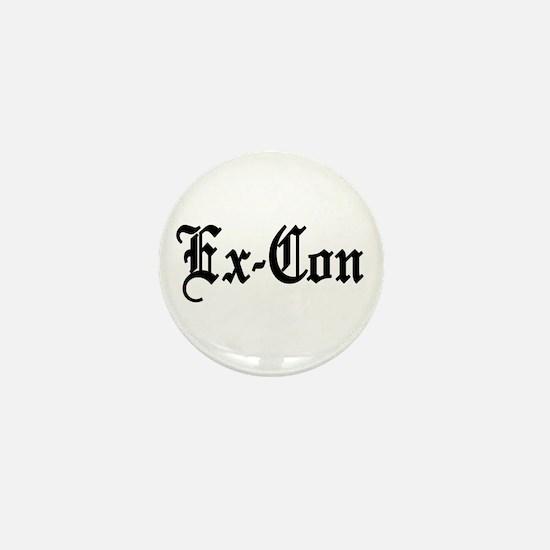 Ex-Con Mini Button