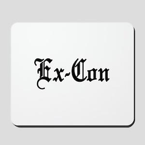 Ex-Con Mousepad