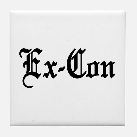 Ex-Con Tile Coaster